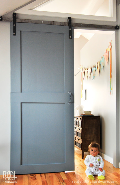 Barn Door Installations Traditional Kids Bridgeport