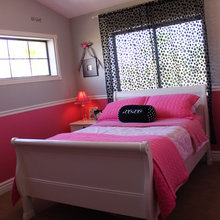 Budget Girl's Bedroom