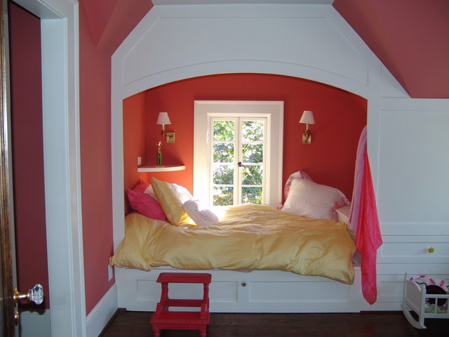Druid Hills Renovation New Children's Bedroom in Attic traditional-kids