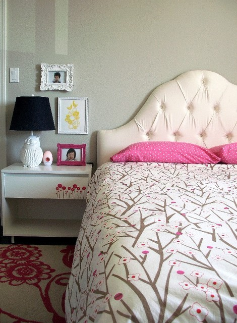 Modern Whimsy Toddler Bedroom contemporary-kids