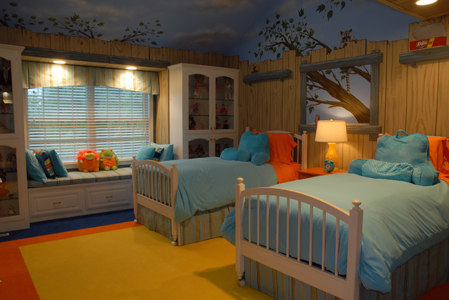 Tree House Bedroom Traditional Kids Minneapolis By