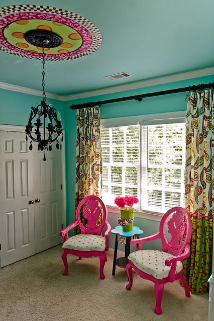 Turquoise tween bedroom canton ga eclectic kids for Rooms to go kids atlanta