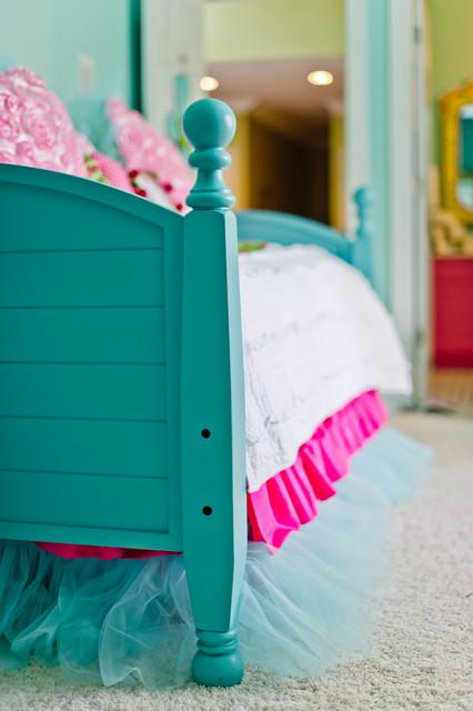 Turquoise Tween Bedroom Canton Ga Eclectic Kids