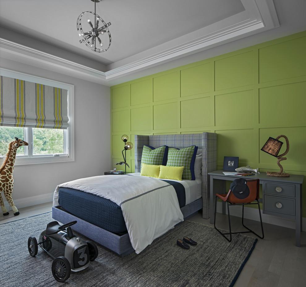 Inspiration for a transitional kids' room remodel in Detroit