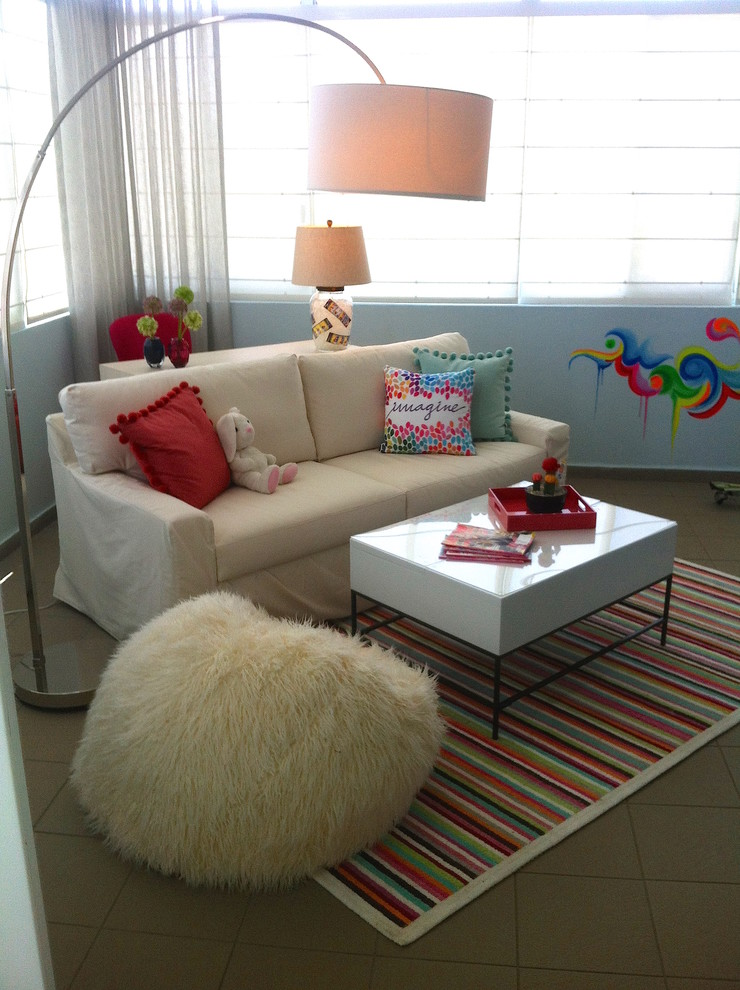 tween lounge and bedroom