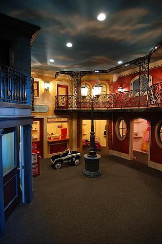 Two Story Playroom Modern Kids New York