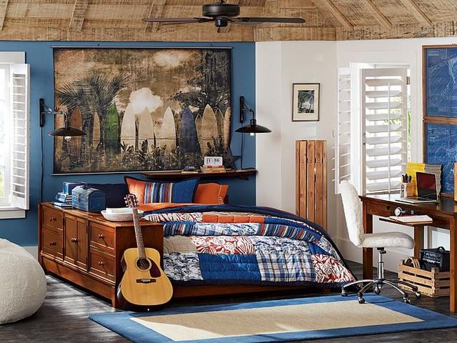 Ultimate Beach Breaker Bedroom traditional-kids