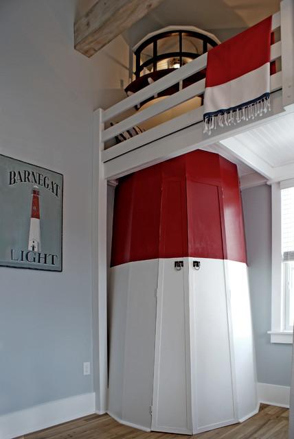Kids' bedroom - beach style kids' bedroom idea in DC Metro