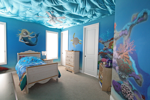 Under the sea traditional kids edmonton by novel for Under the sea bedroom designs