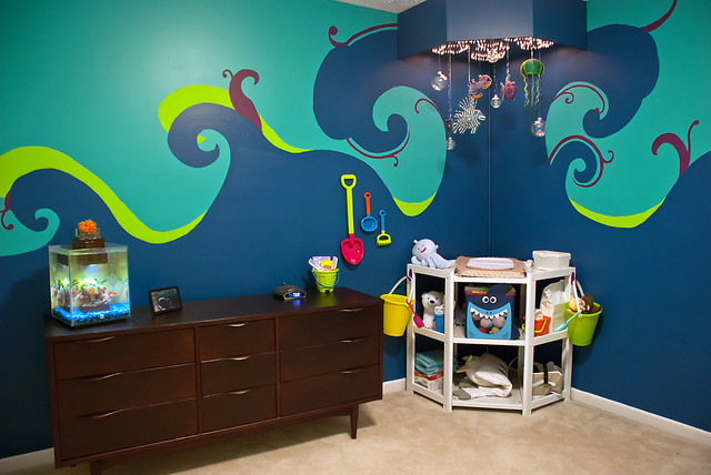 Under the Sea Nursery - Eclectic - Kids - cleveland - by ...