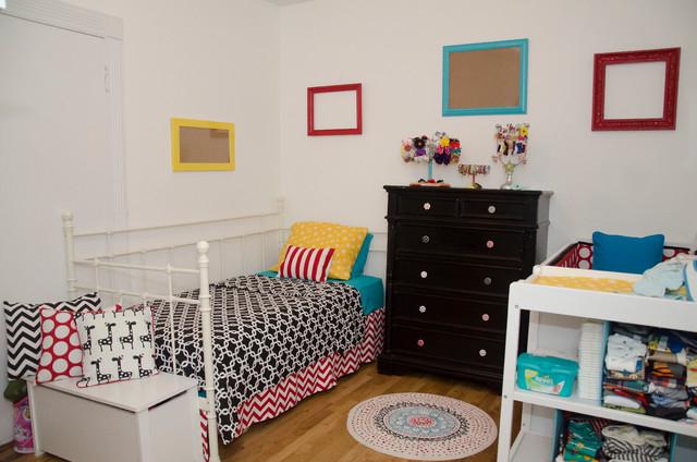 Unisex bedroom contemporary kids newark by amelia for Unisex bedroom designs
