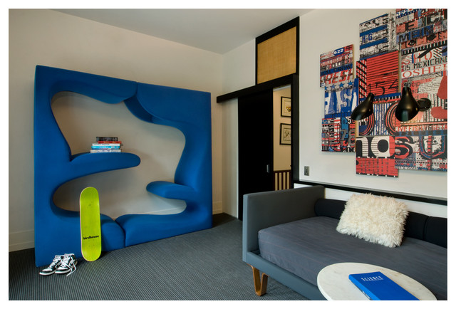 Upper East Side townhouse contemporary-kids