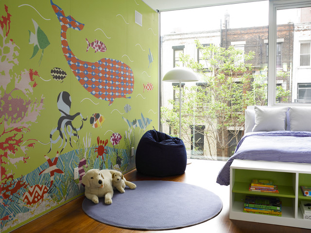 Upper West Side Residence contemporary kids