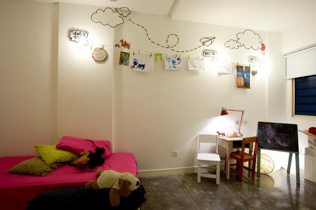 Urban White Canvas contemporary-kids