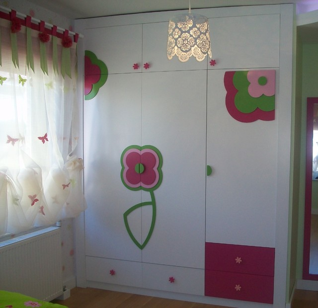 View from the room of little girl... contemporary-kids