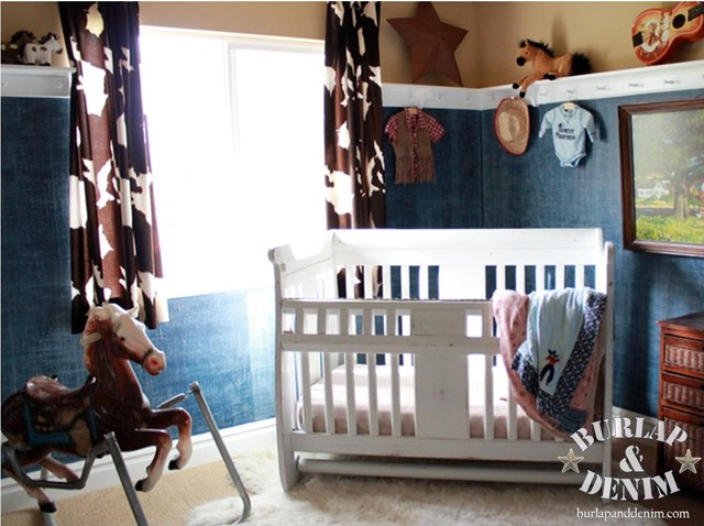 Vintage Cowboy Nursery Eclectic Kids Salt Lake City
