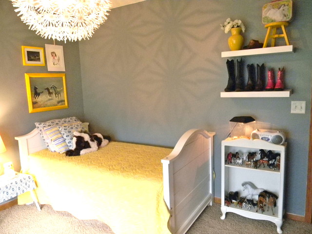 Vintage modern cowgirl for Cowgirl bedroom ideas for kids