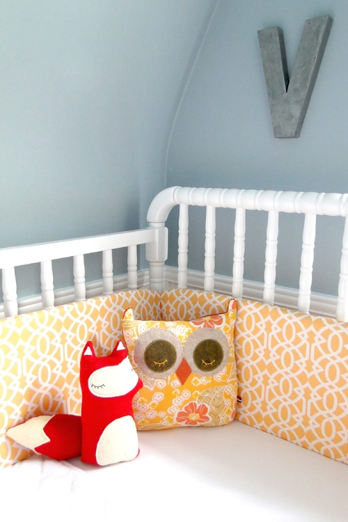 Violets Nursery contemporary kids