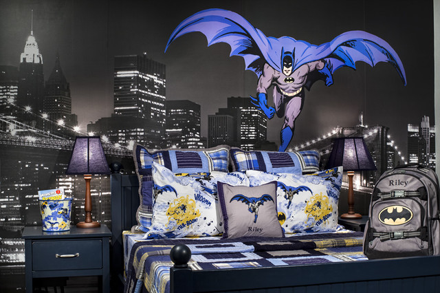 vista ridge model home boys room contemporary kids denver by rh houzz com Batman Logo Batman Girl Room