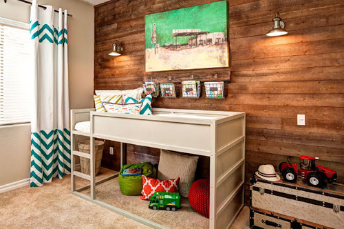 eclectic toddler room