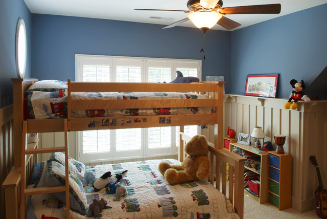 Waddell Custom Homes Interiors traditional-kids