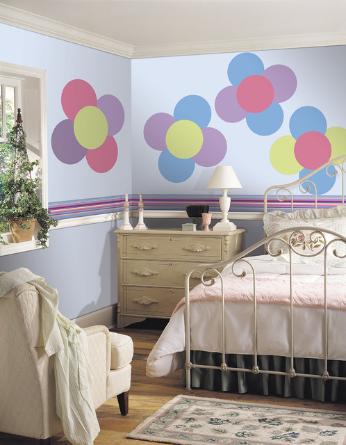 Wall Flowers by WallPops Available in Dots, Blox and Stripes kids