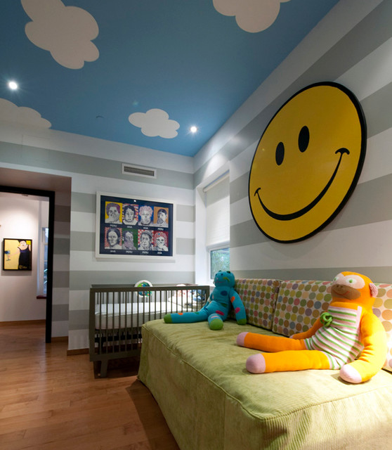 Washington Square Apartment contemporary-kids