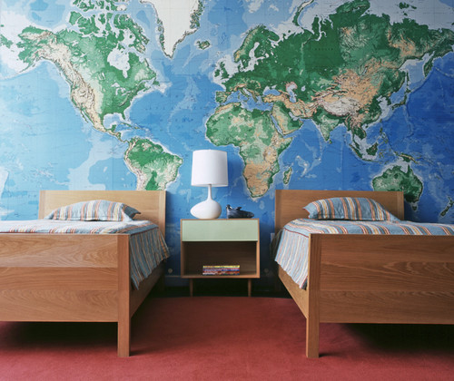 Where do you get the map wall paper west village loft more info gumiabroncs Choice Image