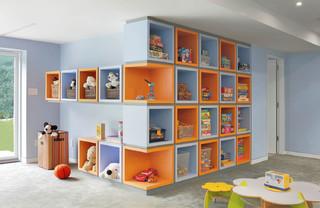 παιδικά έπιπλα - παιδικό δωμάτιο βιβλιοθήκη με χρώματα θεσσαλονίκη 1α