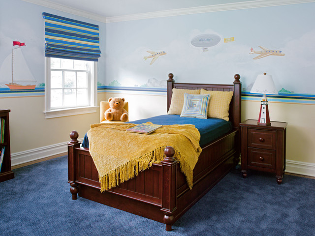 Westport Family Home traditional bedroom