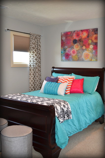 Contemporary Kids Omaha Whimsical Teen Girl's Room contemporary-kids