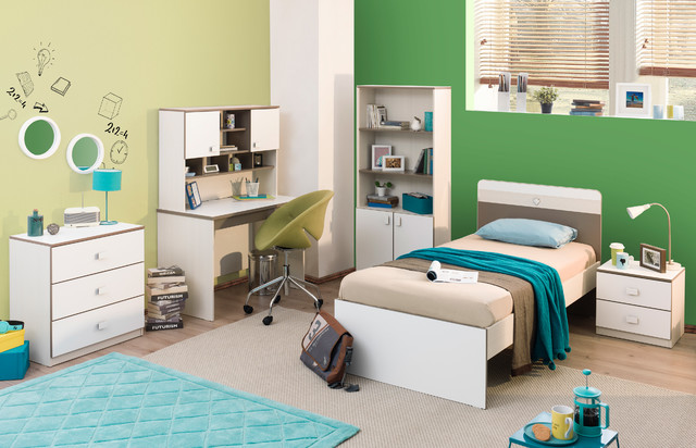 White Chocolate - Contemporary - Kids - miami - by Turbo Beds