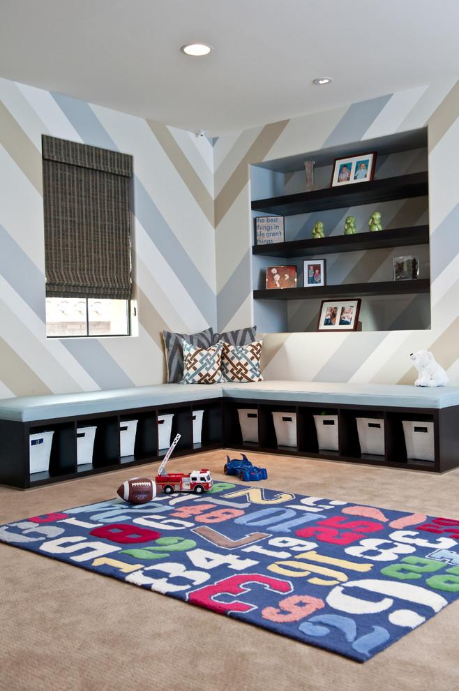 Trendy playroom photo in Phoenix