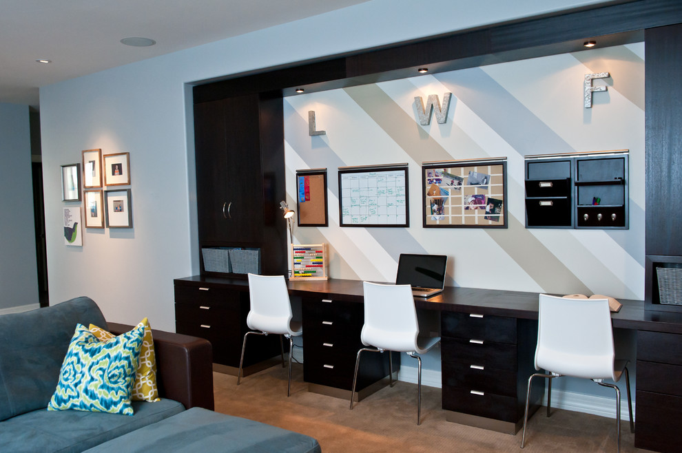 Example of a trendy playroom design in Phoenix