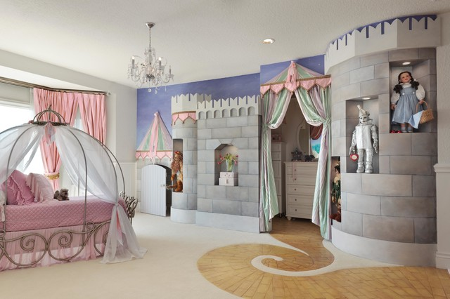 Wizard Of Oz Inspired Bedroom Eklektisch Kinderzimmer Tampa Von Lawler Design Studio Inc