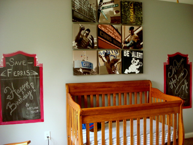 Wrigley Field Bedroom contemporary-kids