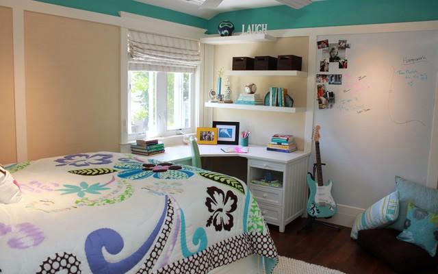Beachy Teen Bedroom contemporary-kids