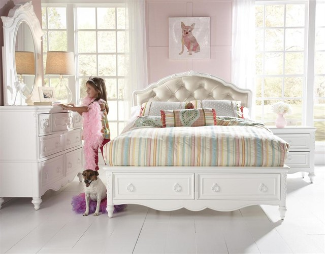 Victorian Youth Bed : Youth bedroom furniture victorian kids indianapolis