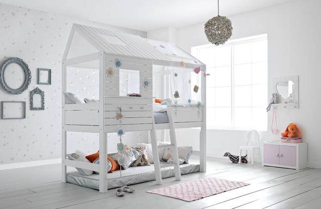Abenteuerbetten Für Kinder: Hochbett Contemporaneo Dormitorio Infantil