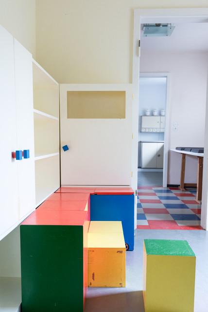 Bauhaus Haus Am Horn Weimar Moderno Dormitorio Infantil