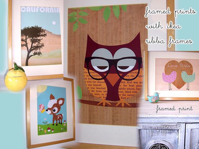cute nursery wall art contemporary-kids