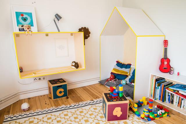 spielburg kinderzimmer, ein hauch von kapstadt: modernes design trifft gründerzeit-wohnung, Design ideen