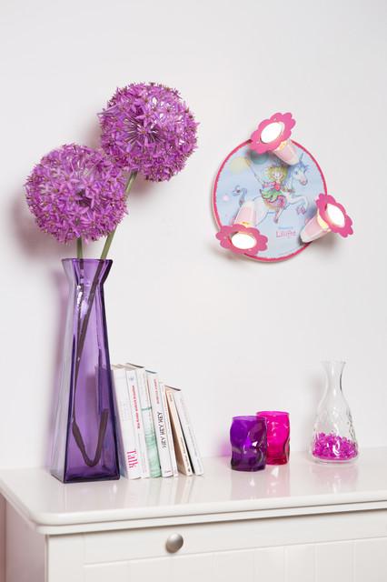 elobra kinderlampe wand deckenleuchte prinzessin lillifee einhorn 130933. Black Bedroom Furniture Sets. Home Design Ideas