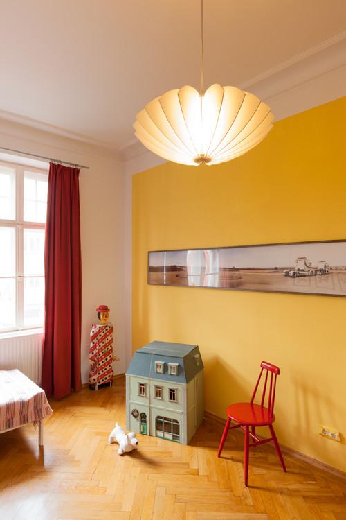 Helene - Pendelleuchte in Altbauwohnung im Kinderzimmer