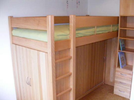 Etagenbett Buche Massiv Geölt : Hochbett buche massiv cm mittelhoch teilbar pick up möbel