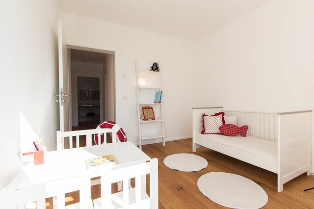 Home staging architektenhaus modern kinderzimmer münchen