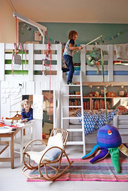 huus 12 noch eenmal skandinavisch kinderzimmer other metro von open ruum. Black Bedroom Furniture Sets. Home Design Ideas