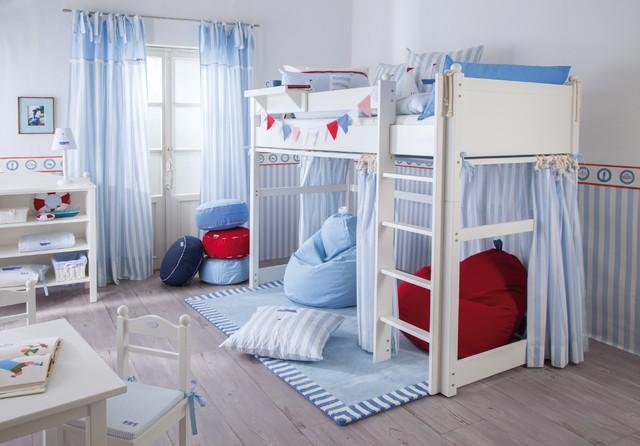Jugendhochbett Jugendzimmer Segelboot - Modern - Kinderzimmer ...