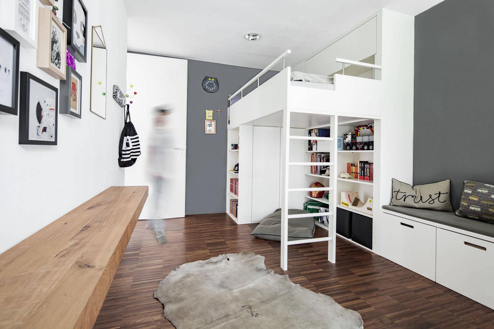 Mehr Stauraum im Kinderzimmer – 12 praktische Varianten