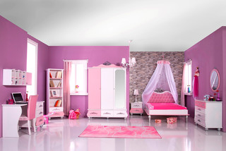 kinderzimmer anastasia rosa modern kinderzimmer. Black Bedroom Furniture Sets. Home Design Ideas